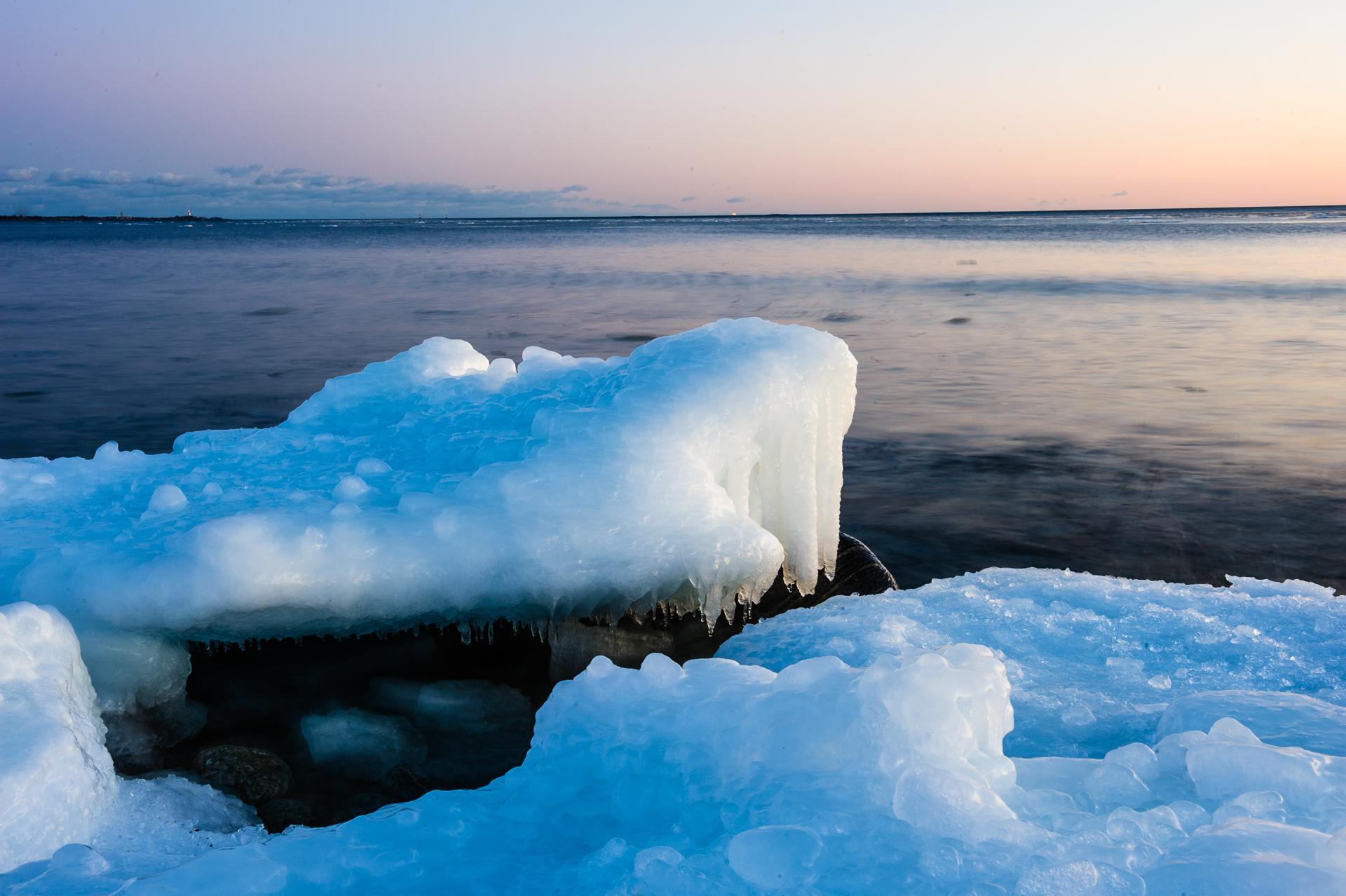 Vintern på Torö