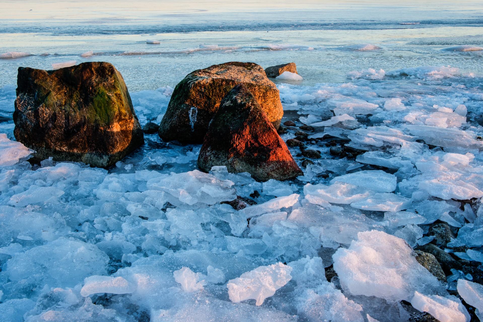 Stranden på Årsta Havsbad